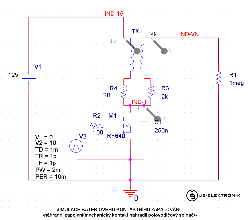 Jb Elektronik Druhy Zapalovani Zazehovych Spalovacich Motoru