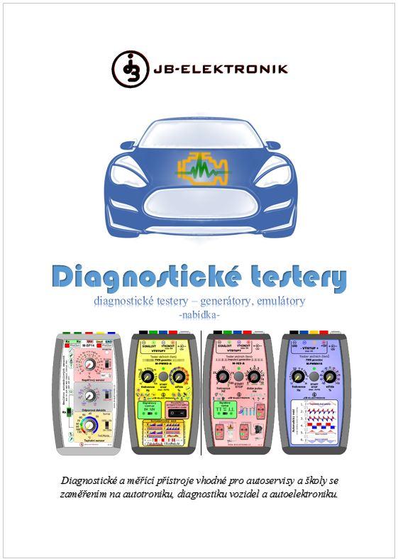 Brožura: diagnostické testery JB-Elektronik
